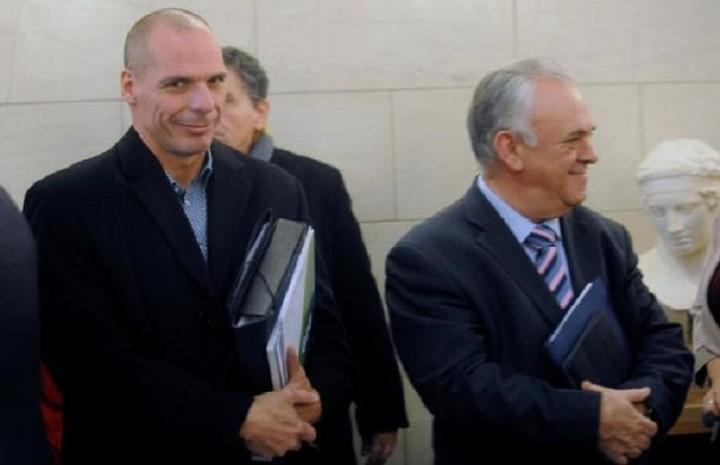 Βαρουφάκης-Δραγασάκης ενημέρωσαν την ΚΟ του ΣΥΡΙΖΑ για τις εξελίξεις