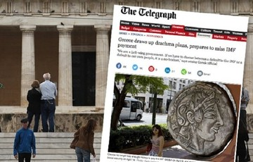 Telegraph:«Η Ελλάδα κάνει σχέδια δραχμής και ετοιμάζεται να μην πληρώσει το ΔΝΤ»