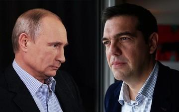 H επανεκκίνηση των ελληνορωσικών σχέσεων στο επίκεντρο της συνάντησης Τσίπρα - Πούτιν