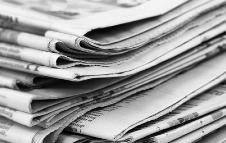 Απίστευτο: Δεν θα πιστεύετε τι έφτιαξε από εφημερίδες (ΒΙΝΤΕΟ)