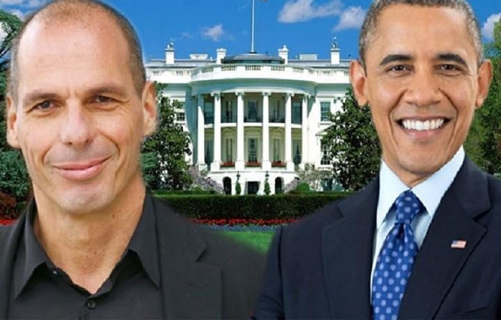 Τι είπαν Βαρουφάκης-Ομπάμα στην ολιγόλεπτη συνάντηση που είχαν