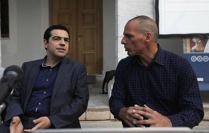 Συνάντηση Αλέξη Τσίπρα με τον Γιάνη Βαρουφάκη