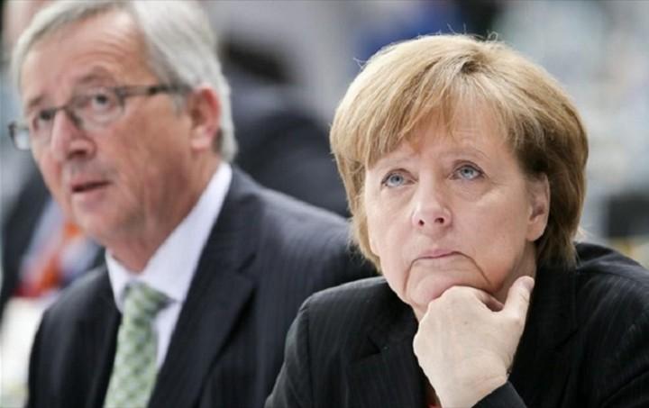 Kurier: Διαμάχη για το Grexit μεταξύ Μέρκελ και Γιούνκερ