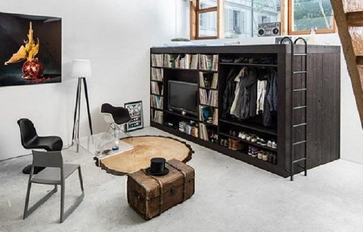Μια απίστευτη κατασκευή που αν έχετε μικρό σπίτι θα σας λύσει τα χέρια