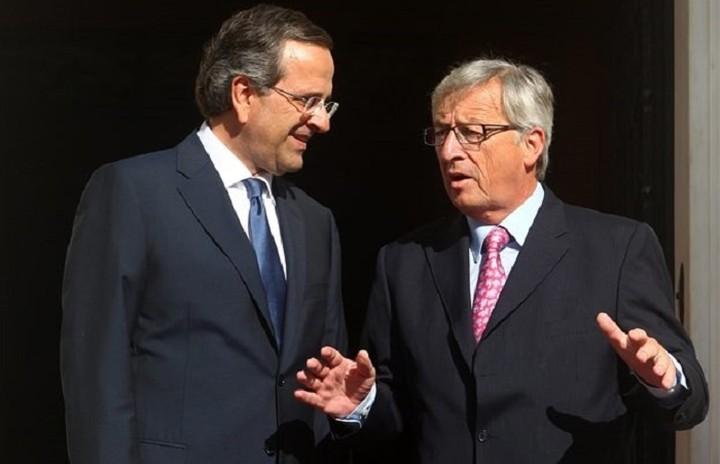Σαμαράς:«Σκοπός να διασφαλίσουμε την παραμονή της Ελλαδας στην Ευρώπη και το ευρώ»