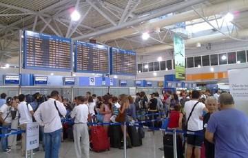 """Ραγδαία αύξηση της επιβατικής κίνησης στο """"Ελ. Βενιζέλος"""""""