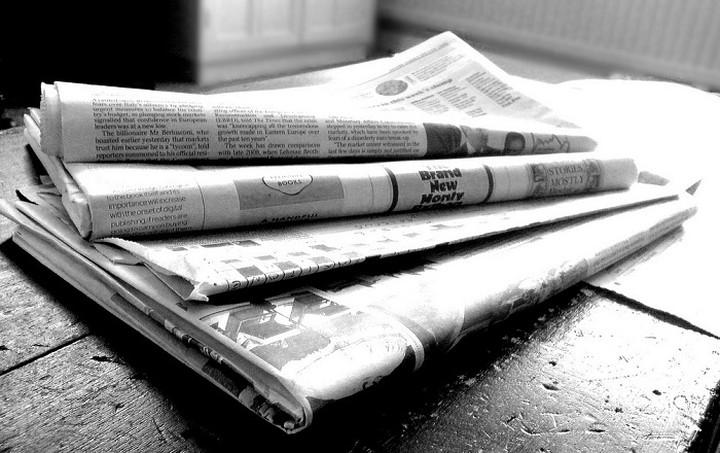 Τα πρωτοσέλιδα των σημερινών εφημερίδων (05.05.15)
