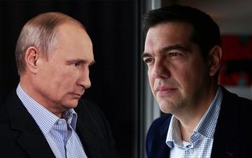 Τηλεφωνική επικοινωνία Τσίπρα - Πούτιν για τον αγωγό