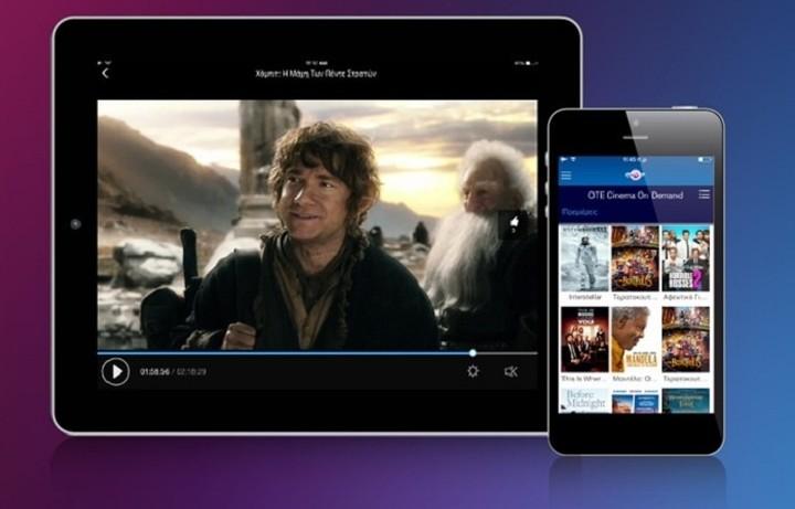 H νέα υπηρεσία OTE TV GO για tablets και smartphones