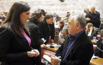 Η πρόεδρος της Βουλής κατηγόρησε τον Γ. Δραγασάκη για καταστρατήγηση του προγράμματος της Θεσσαλονίκης