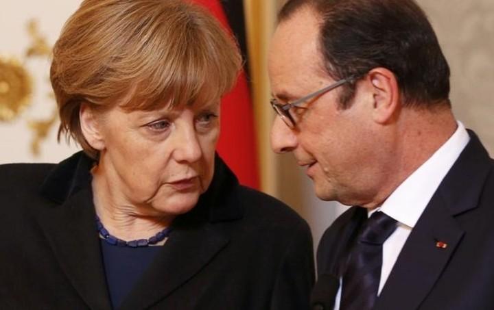 Επιτάχυνση των συνομιλιών ζητούν Μέρκελ - Ολάντ