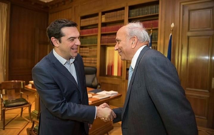 Μέγαρο Μαξίμου: Με τον CEO της Fairfax συναντήθηκε ο Αλέξης Τσίπρας