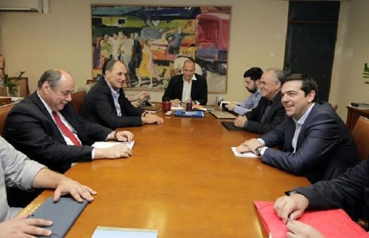 Συνεδρίασε χθες η ομάδα πολιτικής διαπραγμάτευσης υπό τον πρωθυπουργό