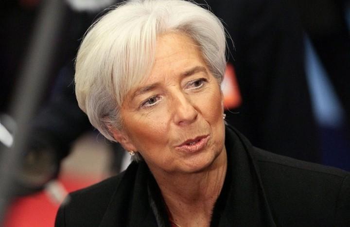 Το ΔΝΤ παρενέβη στη συνέντευξη της Λαγκάρντ