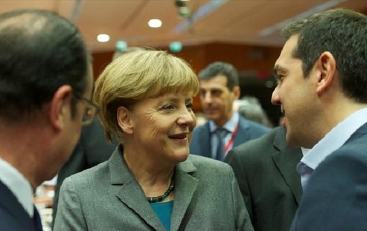 Στην ανάγκη για χαμηλά πρωτογενή πλεονάσματα συμφώνησαν Ολάντ- Μέρκελ -Τσίπρας
