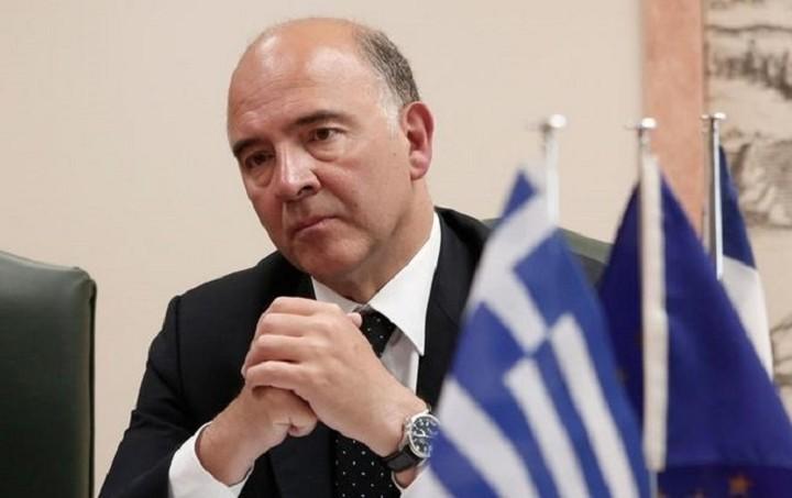 Μοσκοβισί: Δεν υπάρχει Plan B για την Ελλάδα