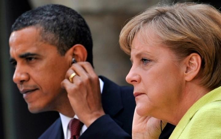 Τετ α τετ Ομπάμα Μέρκελ στο περιθώριο της Συνόδου του G7