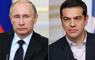 Σε καλό κλίμα η τηλεφωνική επικοινωνία Τσίπρα - Πούτιν