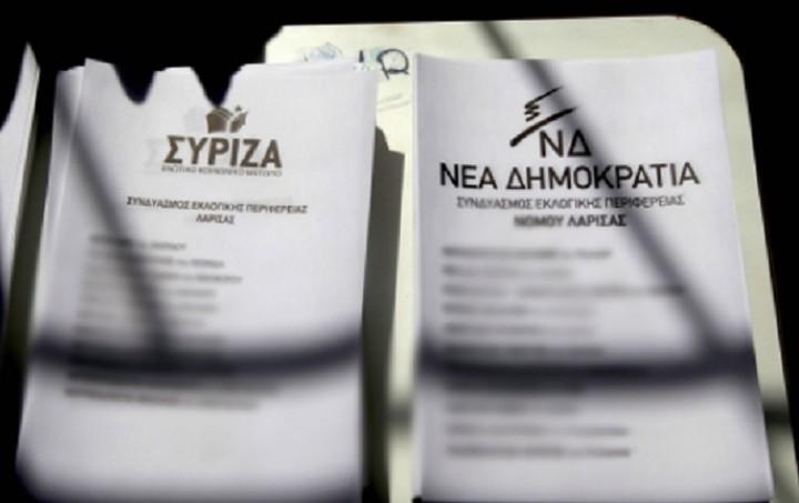 Δημοσκόπηση: Διαφορά 23,6 μονάδων του ΣΥΡΙΖΑ από τη ΝΔ