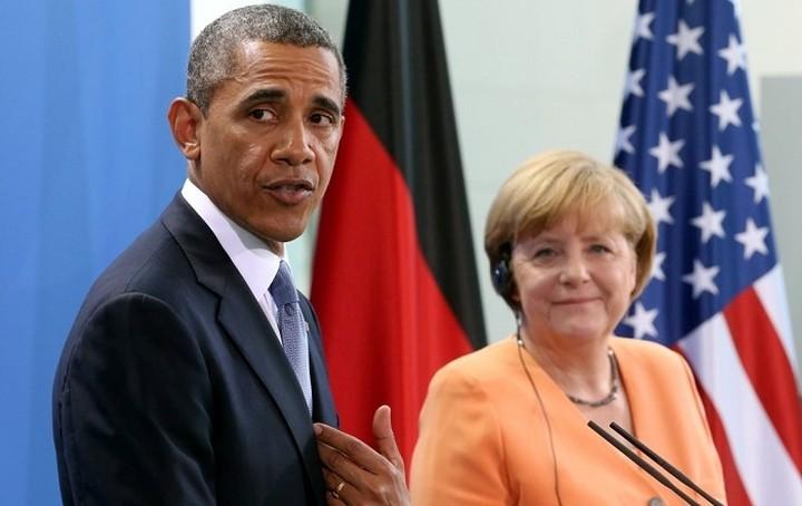 Συνάντηση Μέρκελ - Ομπάμα στο πλαίσιο της G7