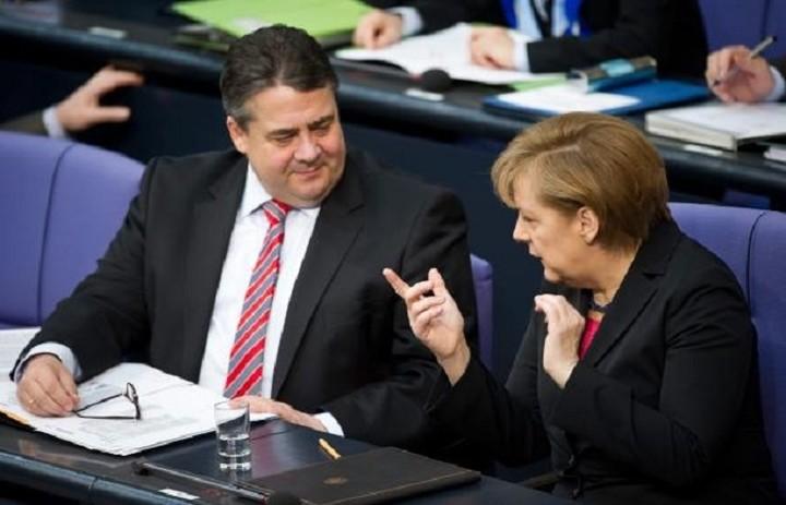 Έκτακτη συνάντηση είχε η Μέρκελ με τον Γκάμπριελ για το θέμα της Ελλάδας