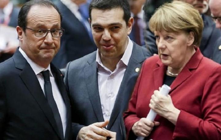 Μέρκελ - Ολάντ - Τσίπρας: Οι διαπραγματεύσεις πρέπει να εντατικοποιηθούν