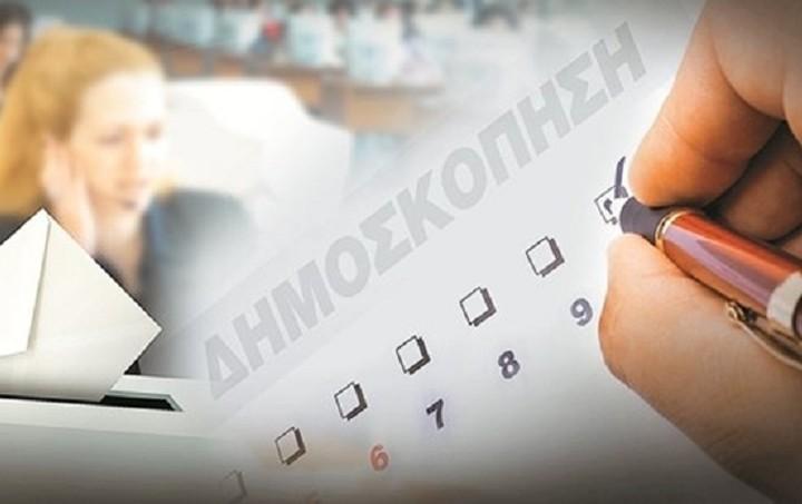 Δημοσκόπηση: Πρώτος με διαφορά παραμένει ο ΣΥΡΙΖΑ