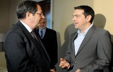 Πρόταση για παράταση του ελληνικού προγράμματος μετέφερε ο Αναστασιάδης στον Τσίπρα