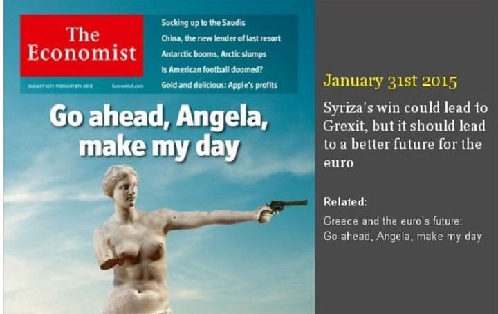 H κρίση στην Ελλάδα μέσα από 7 εξώφυλλα του Economist (Εικόνες)
