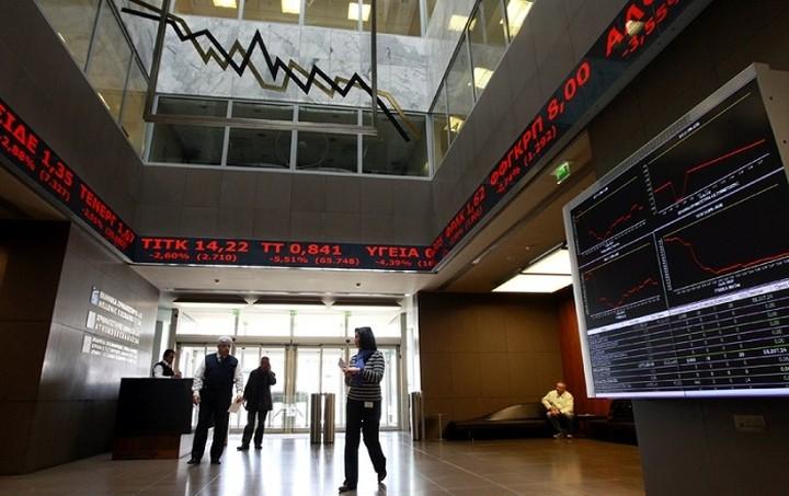 Με πτώση 1,77% έκλεισε το Χρηματιστήριο Αθηνών την Τετάρτη