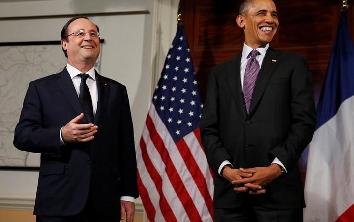 Τηλεφωνική επικοινωνία Ομπάμα - Ολάντ για την υπόθεση των αμερικανικών υποκλοπών