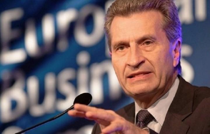 Έτινγκερ:«Ενα Grexit είναι αναπόφευκτο, εάν δεν υπάρξει λύση τις επόμενες πέντε ημέρες»