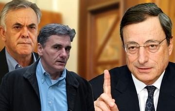 Δραγασάκης - Τσακαλώτος: Θα συνεχιστεί η στενή συνεργασία με ΕΚΤ και ΤτΕ