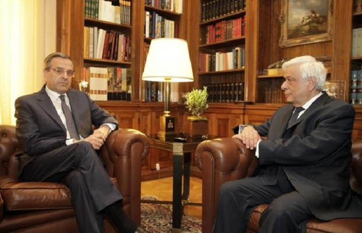 Συζήτηση για το δημοψήφισμα είχαν ο Παυλόπουλος και Σαμαράς