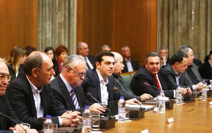 Ολοκληρώθηκε η συνεδρίαση του υπουργικού συμβουλίου