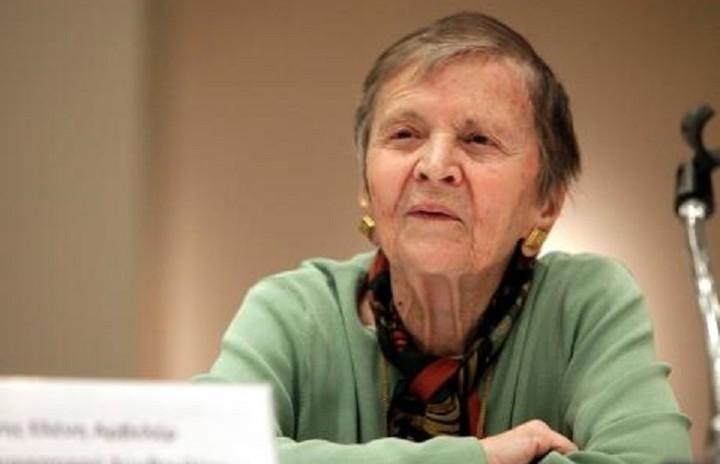 Ελένη Γλύκατζη - Αρβελέρ: «Ναι στην Ευρώπη, την ευρύτερη πατρίδα μας»