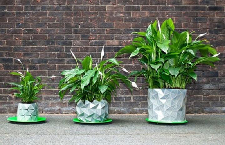 «'Εξυπνη» γλάστρα...μεγαλώνει μαζί με το φυτό!