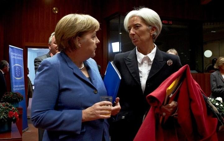 DW: Λαγκάρντ εναντίον Μέρκελ για το ελληνικό χρέος