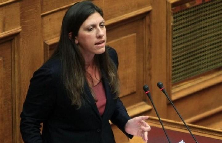 Κωνσταντοπούλου:«Η Βουλή δεν πρέπει να ολοκληρώσει τον εκβιασμό που απευθύνεται στην κυβέρνηση»