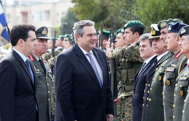 Καμμένος: «Οι Ένοπλες Δυνάμεις πήραν διαταγή για περιπολίες σε όλη την Ελλάδα»