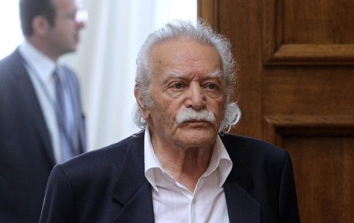 Γλέζος: Άλλος ο ΣΥΡΙΖΑ που γνώρισα εγώ και άλλο η κυβέρνηση του Μαξίμου