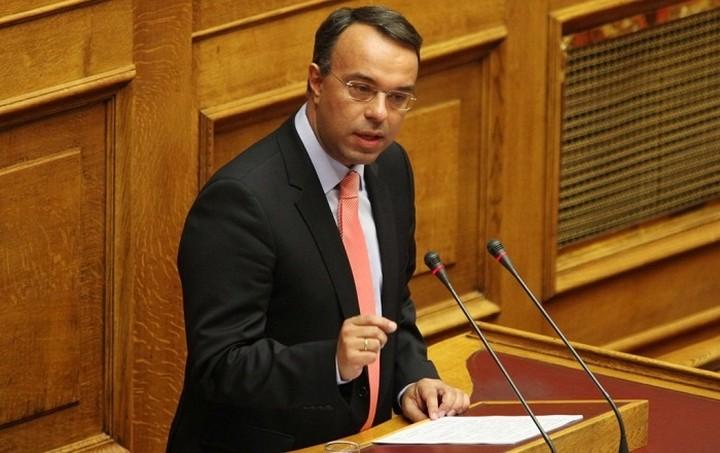 Ευθύνες στην κυβέρνηση για την πτώση του Χρηματιστηρίου καταλογίζει ο Σταϊκούρας