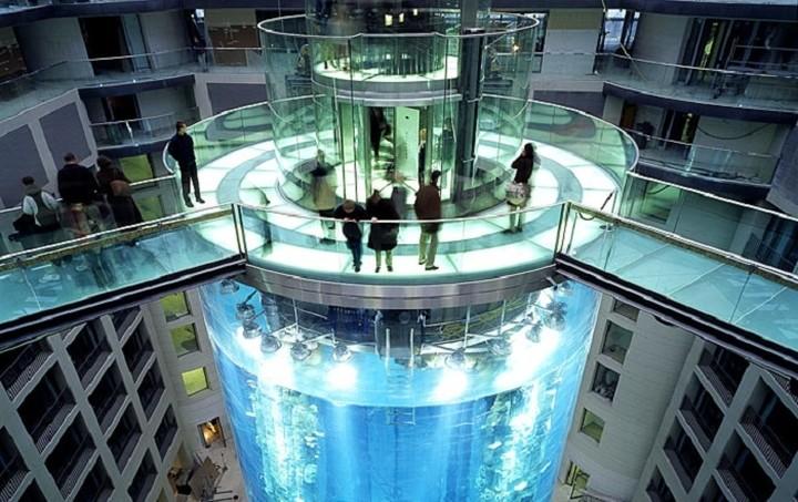 Μετέτρεψαν ασανσέρ ξενοδοχείου σε... ενυδρείο (ΦΩΤΟ)