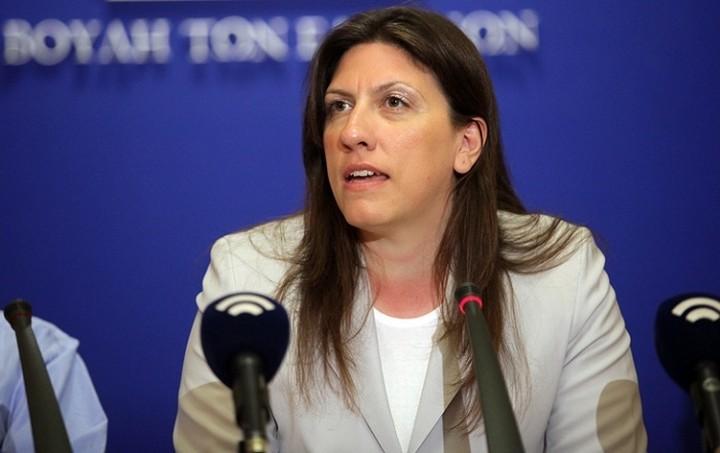 Κωνσταντοπούλου: Δεν υπάρχει συμφωνία, ο Τσίπρας εκβιάζεται