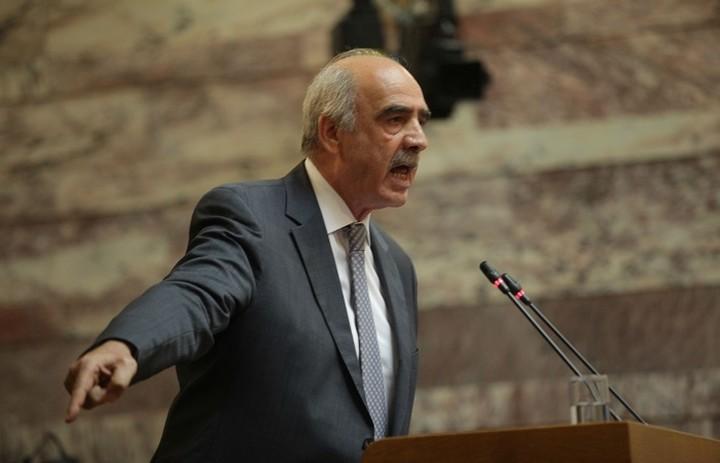 Μεϊμαράκης:«Αν υπάρξουν κάλπες η οικονομία θα μπει σε αστάθεια»