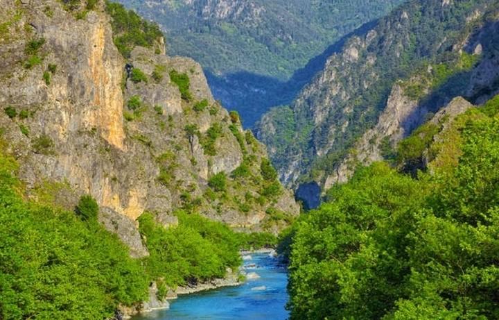 Στα 10 κορυφαία φαράγγια της Ευρώπης δύο ελληνικά