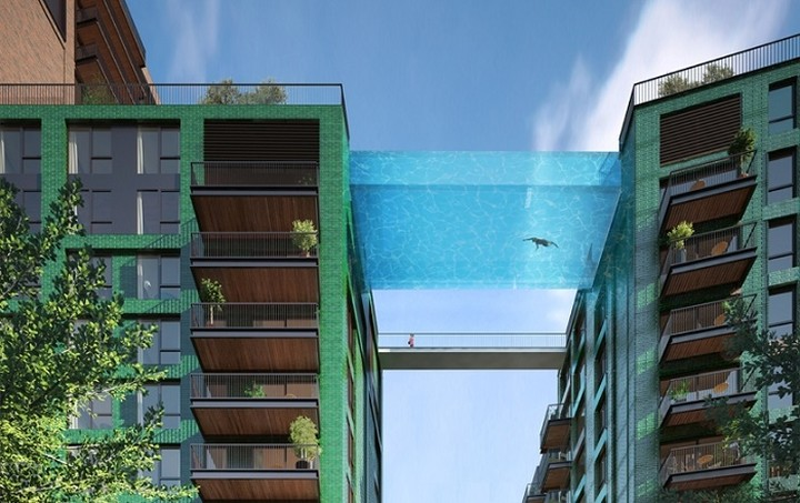 Εσείς θα τολμούσατε να κολυμπήσετε στον αέρα;