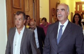 Ολοκληρώθηκε η συνάντηση Μεϊμαράκη - Θεοδωράκης