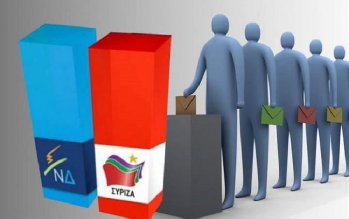 Μetron Analysis: Οριακό προβάδισμα της Νέας Δημοκρατίας έναντι του ΣΥΡΙΖΑ