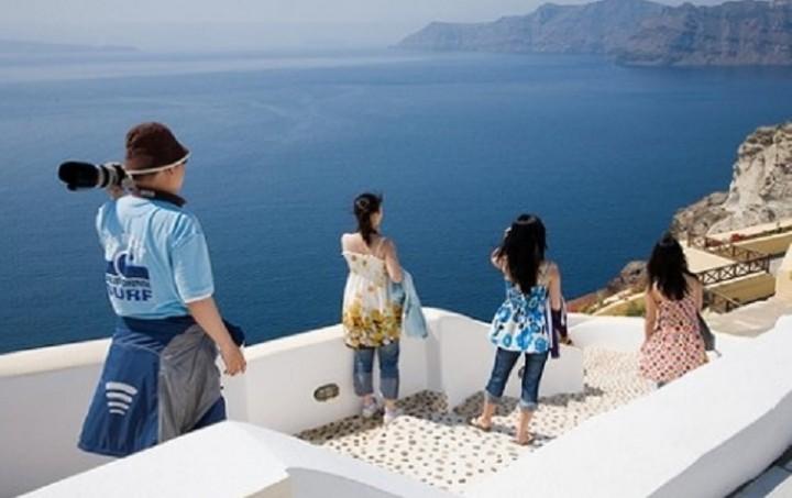 Aυξήθηκαν κατά 20% οι Κινέζοι τουρίστες που επισκέφθηκαν την Ελλάδα